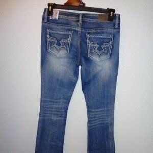 Hydraulic Jeans Size 11 NWT Bailey Slim Boot